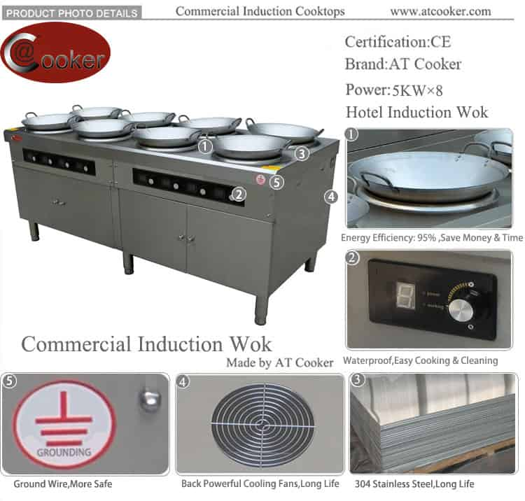 chinese burner wok cookers commercial wok equipment